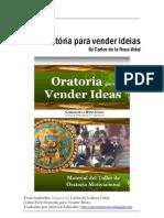 Oratória para vender ideias - Carlos de la Rosa Vidal (Português)