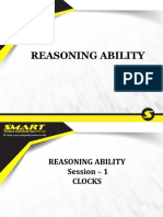 Reasoning Ability ppt of SMART