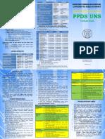 Leaflet PPDS UNS 2020