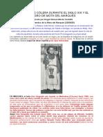 Pandemias de Cólera Durante El Siglo Xix y El Milagro de Mota Del Marqués