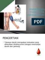 PEMERIKSAAN TANDA TANDA VITAL (tekanan darah)