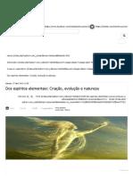 Dos espíritos elementais_ Criação, evolução e natureza.pdf