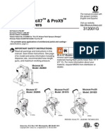 Magnum X5, X7, ProX7 & ProX9 Airless Paint Sprayer Instruction Manual