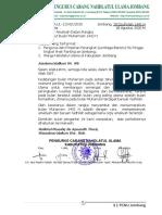 Amaliah Muharram 1442 H PCNU Jombang
