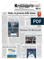 Il Messaggero 14 Febbraio 2011
