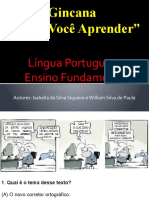 Gincana de LÃÂ-ngua Portuguesa blog