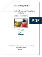 Pickle Production Processing Packaging  Marketing Rs. 3.15 million Mar-2018