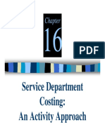 Methods of Service Department Costing