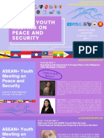 ASEAN+ Youth Meeting on Peace and Security