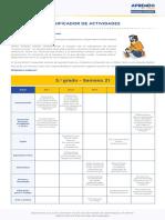 Matematic5 Semana 21 Planificador Ccesa007