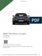 BMW 750i M 137k