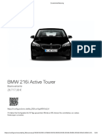 BMW 216i Active Tourer 28.7k