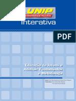 Educação de Jovens e Adultos  fundamentos e metodologias (40hs) Unidade I(1)