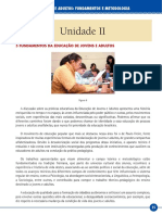 Educação de Jovens e Adultos  fundamentos e metodologias (40hs) Unidade II