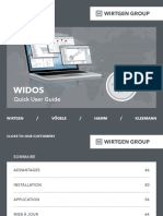 WIDOS - fr - Quick User Guide