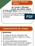 4.2 ESPECIFICIDADES DA  EDUCAÇÃO INFANTIL - JÚLIA