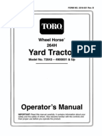 B, C, D Series Service Manual: Table of Contents – Page 1 of 1 D Wheel Horse Ignition Switch Wiring Diagram on