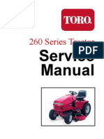 toro wheelhorse 260 series service manual nut (hardware) screwWheel Horse Wiring Diagram Videos #14