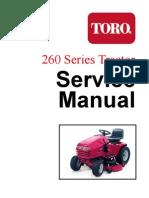 toro wheelhorse 260 series service manual screw nut hardware rh scribd com Toro Wheel Horse Wiring-Diagram Toro Z Master Wiring Diagram