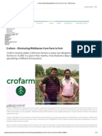 Crofarm Eliminating Middlemen from Farm to Fork - BW Disrupt