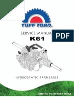 Tuff-Torq k61 Transmission Manual