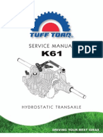 Tuff-Torq k61 Transmission Manual