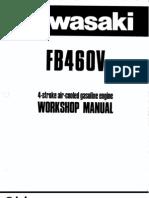 documents similar to kawasaki fb460v service manual