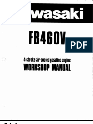 Kawasaki Fb460v Ignition Coil