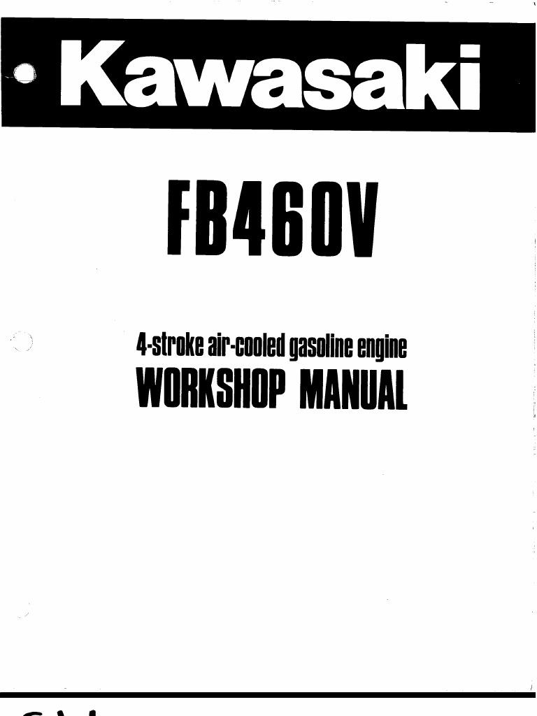 Kawasaki FB460V service Manual on klr 650 cvk diagram, carburetor diagram, kawasaki ninja 250r wiring harness diagram, kawasaki 250 parts breakdown of carb,