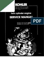 Kohler Kt17 Kt19 series ii Service Manual