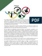 ISAAC MENDEZ - Los Juegos Olímpicos