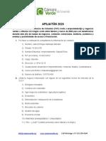 Camara Verde de Comercio - Afiliaton de emprendedor@s y negocios verdes 2020 v 1.0.docx