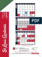 2020 St. Louis Cardinals schedule