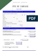 Cnccfp-compte de Campagne 2006