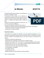 Electrodo de Nitrato