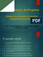 Aula - Gestão de Projeto e Engenharia Simultânea
