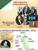 LA REPUBLICA ARSITOCRATICA