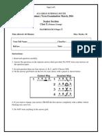 Math X (Science) PI