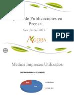 Reporte Publicaciones Prensa Noviembre 2017_