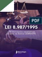 LEI 8.987-REGIME DE CONCESSÃO E PERMISSÃO-SERVIÇO PÚBLICO-legisação estratégica-8