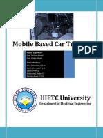 Mobile Based Car Tracker