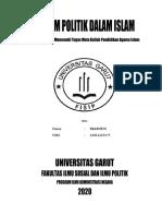 Sistem Politik Dalam Islam.doc