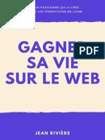 Gagner sa vie sur le web