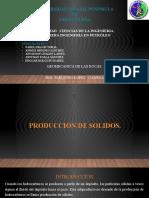 PRODUCCION DE SOLIDOS CAPITULO #10