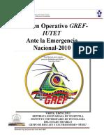 Informe Operativo EN2010
