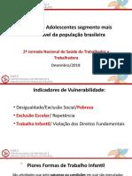 Crianças e Adolescentes Segmento Mais Vulnerável Da População Brasileira