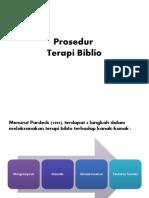 Prosedur terapi biblio
