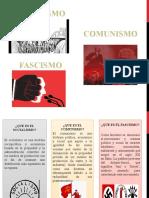 Socialsimo, Comunismo y Fascismo.pptx