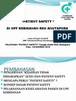 Patient Safety Di RSU Anutapura