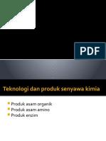 bioteknologi produk senyawa kimia
